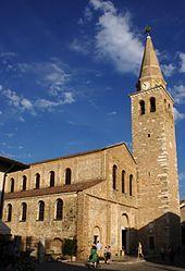 La Basilica di Sant Eufemia.
