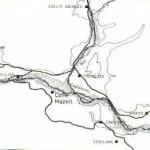 217 Localizzazione, in rapporto alla antica viabilità
