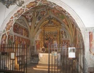 FORNI DI SOPRA (Ud). Fraz. Cella, Chiesa di San Floriano.