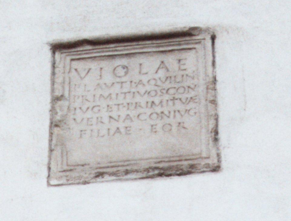 Udine, Stele funeraria di Palazzo Zucco.