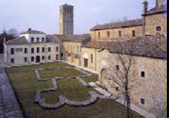 SESTO AL REGHENA (Pn). Abbazia di  Santa Maria in Silvis.