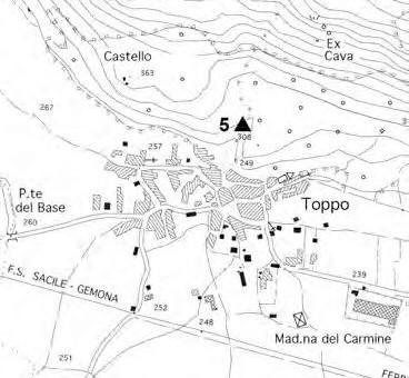 TRAVESIO (Pn), loc. Toppo, top. Tarabanis, Grotticella dal Ruc.