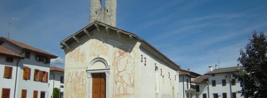 PINZANO AL TAGLIAMENTO (PN), fraz. Valeriano, Santa Maria dei Battuti.